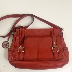 Relic Deep Orange Crossbody Bag